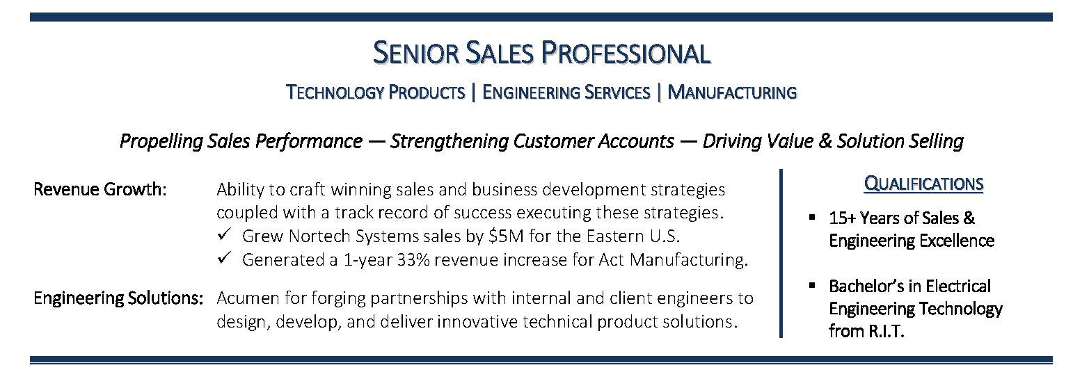 Manufacturing Sales