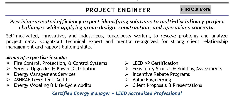 Amazing Energy Engineering Resume Ideas - Office Worker Resume ...