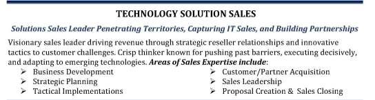 IT Sales